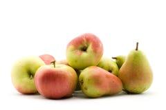 jabłko gruszki Obrazy Stock