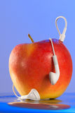 jabłko ja Zdjęcie Royalty Free