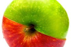 jabłko kreatywnie Obrazy Stock