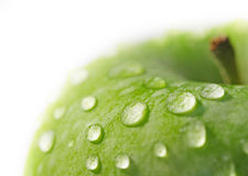 jabłko makro Zdjęcie Stock