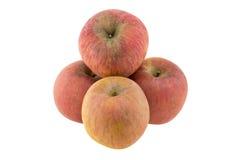 jabłko odizolowane Zdjęcia Royalty Free