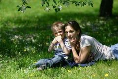 jabłko ogród Zdjęcia Stock