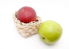 jabłko para Fotografia Royalty Free