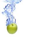 jabłko woda Zdjęcia Stock