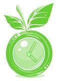 jabłko zegar Zdjęcie Stock