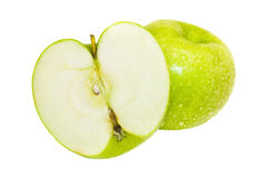 jabłko - zielony soczysty Obraz Stock