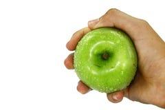jabłko - zielony soczysty Zdjęcie Stock