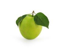 jabłko - zielony soczysty Fotografia Stock
