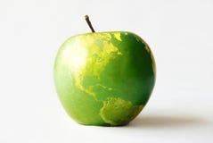 jabłko ziemia Fotografia Royalty Free