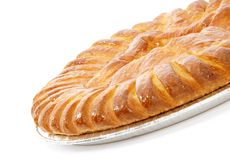 jabłkowe ciasto Obrazy Royalty Free