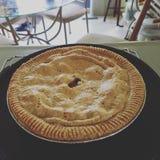 jabłkowe ciasto domowej roboty Obraz Royalty Free