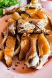 Jabalí de la carne asada Fotos de archivo libres de regalías