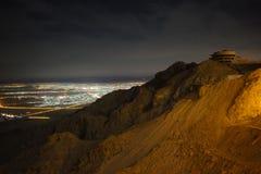 Jabal Hafeet Стоковое Изображение RF