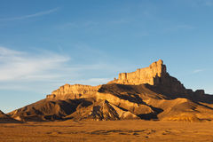 Jabal Idinin, Akakus Mountains, Sahara, Libya Royalty Free Stock Images