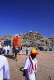 Jabal Rahmah в Arafah Стоковые Фото