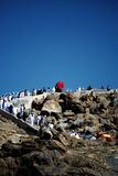 Jabal Rahmah At Arafah Royalty Free Stock Image