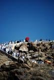 Jabal Rahmah bei Arafah Lizenzfreies Stockbild
