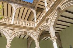 Jabalquinto slott, Baeza, Spanien Royaltyfria Bilder