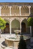 Jabalquinto slott, Baeza, Spanien Arkivfoton