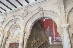 Jabalquinto slott, Baeza, Spanien Arkivfoto