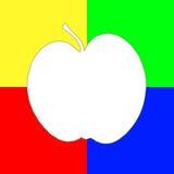 jabłczana sztuka Zdjęcia Royalty Free