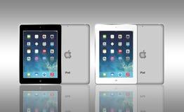 Jabłczany iPad powietrze Zdjęcie Royalty Free