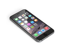 Jabłczany iPhone 6 Obrazy Stock