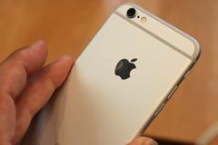 Jabłczany iPhone 6 Zdjęcie Stock