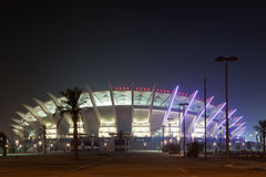 Jaber A-Ahmad International Stadium in Kuwait Stock Image