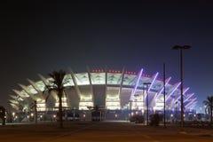 Jaber A-Ahmad Międzynarodowy stadium w Kuwejt Obraz Stock