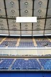 Jaber stadium. Empty soccer stadium (Jaber stadium in Kuwait Stock Photo