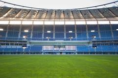Jaber stadium. Empty soccer stadium (Jaber stadium in Kuwait Stock Images