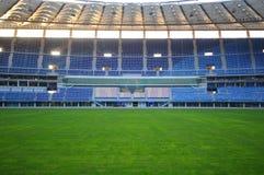 Jaber stadium. Empty soccer stadium (Jaber stadium in Kuwait Royalty Free Stock Image