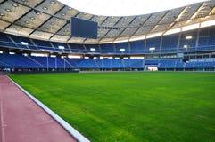 Jaber stadium. Empty soccer stadium (Jaber stadium in Kuwait Royalty Free Stock Images