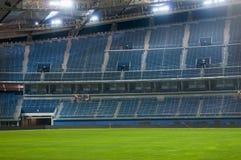 Jaber stadium. Empty soccer stadium (Jaber stadium in Kuwait Royalty Free Stock Photos