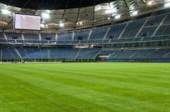Jaber stadium. Empty soccer stadium (Jaber stadium in Kuwait Stock Photography