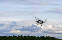 Jabirovliegtuigen Royalty-vrije Stock Foto