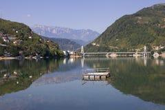 Jablani�ko lake Royalty Free Stock Photos