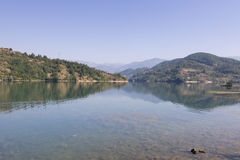 Jablani�ko lake Royalty Free Stock Photography