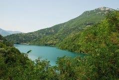 Jablanicko Jezero. Lake in Bosnia and Herzegovina Stock Photo