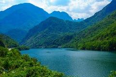 Jablanicko Lake, on the Neretva River Royalty Free Stock Photo