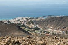 jable Fuerteventura morro Obraz Stock