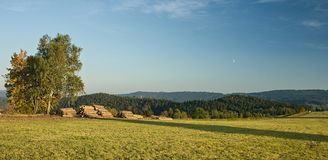 Czech Republic - Jablonec nad Nisou and surroundings Royalty Free Stock Photography