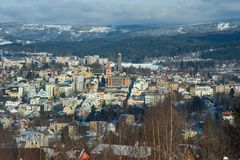 Jablonec nad Nisou, Czech republic Royalty Free Stock Photos