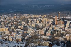 Jablonec nad Nisou, República Checa Foto de archivo