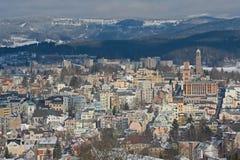 Jablonec nad Nisou, Tjeckien royaltyfria bilder