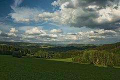 Czech Republic - Jablonec nad Nisou and surroundings stock images