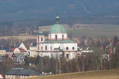 Jablonne v Podjestedi, Czech republic Stock Image
