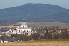 Jablonne v Podjestedi, Czech republic Royalty Free Stock Images