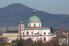 Jablonne v Podjestedi, Czech republic Royalty Free Stock Photography